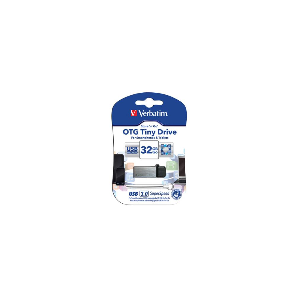 Verbatim 威寶 OTG TINY 32GB USB3.0 雙介面高速隨身碟