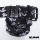 BIG TRAIN 小龍和柄皮帶-男-黑色