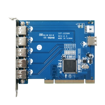 伽利略 PCI (5+1) Port USB 2.0 卡