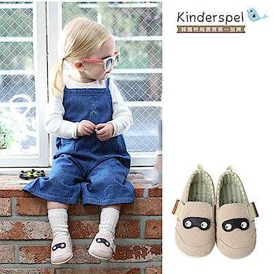 Kinderspel 輕柔細緻.郊遊趣休閒學步鞋(寶寶特攻隊-粉紅)
