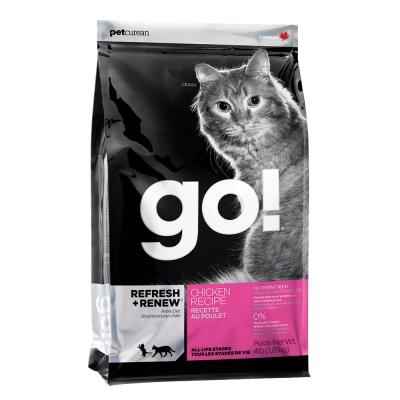 Go! 雞肉蔬果全貓糧《8磅》WDJ推薦