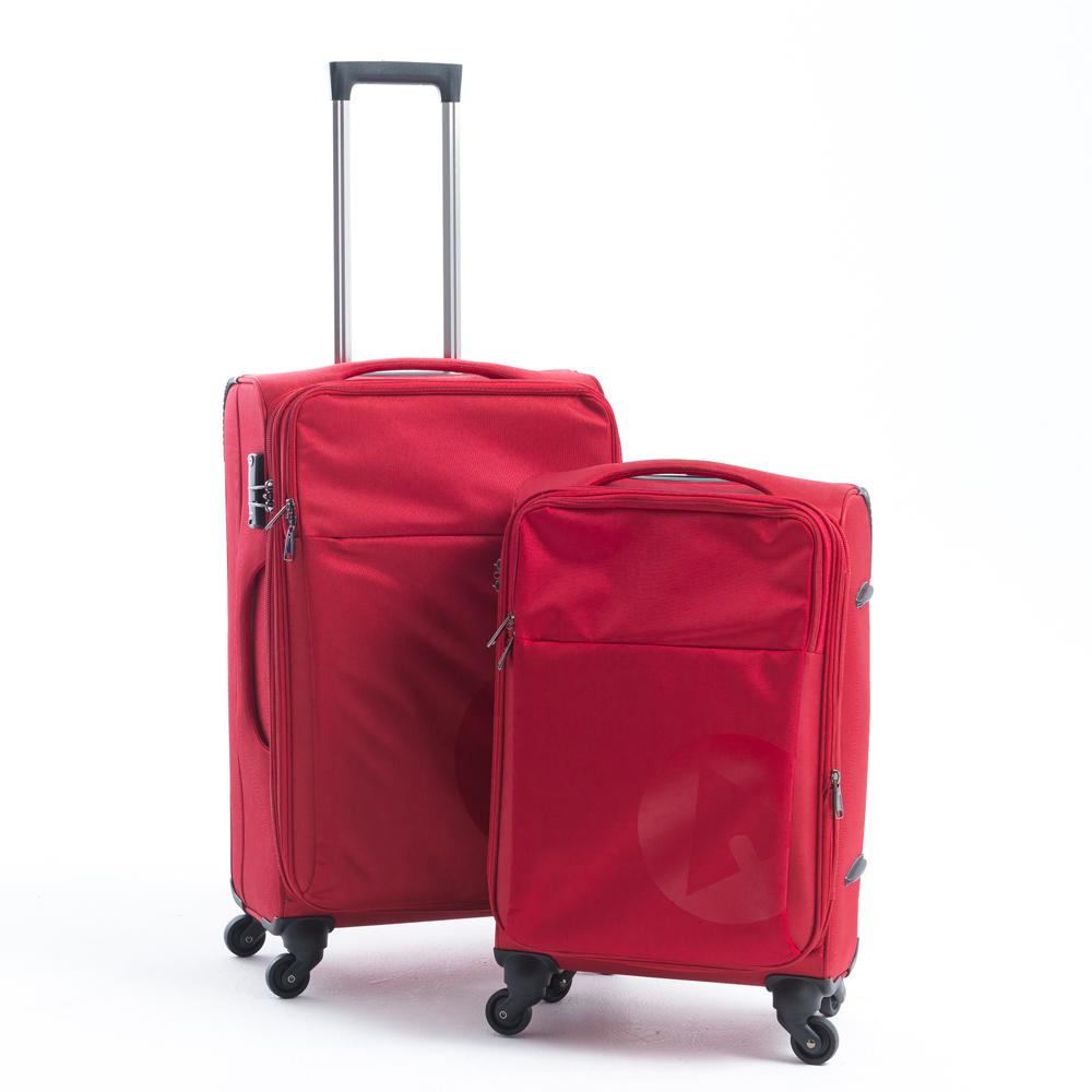 AIRWALK  LUGGAGE - 輕量系列寄情物語行李箱 20吋 24吋拉鍊箱二件組