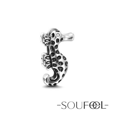 SOUFEEL索菲爾 925純銀珠飾 海馬 串珠