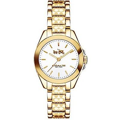 COACH 時尚名媛風氣質金腕錶14502184