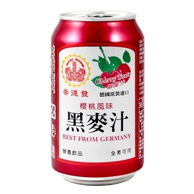 崇德發 櫻桃黑麥汁(330mlx6瓶)