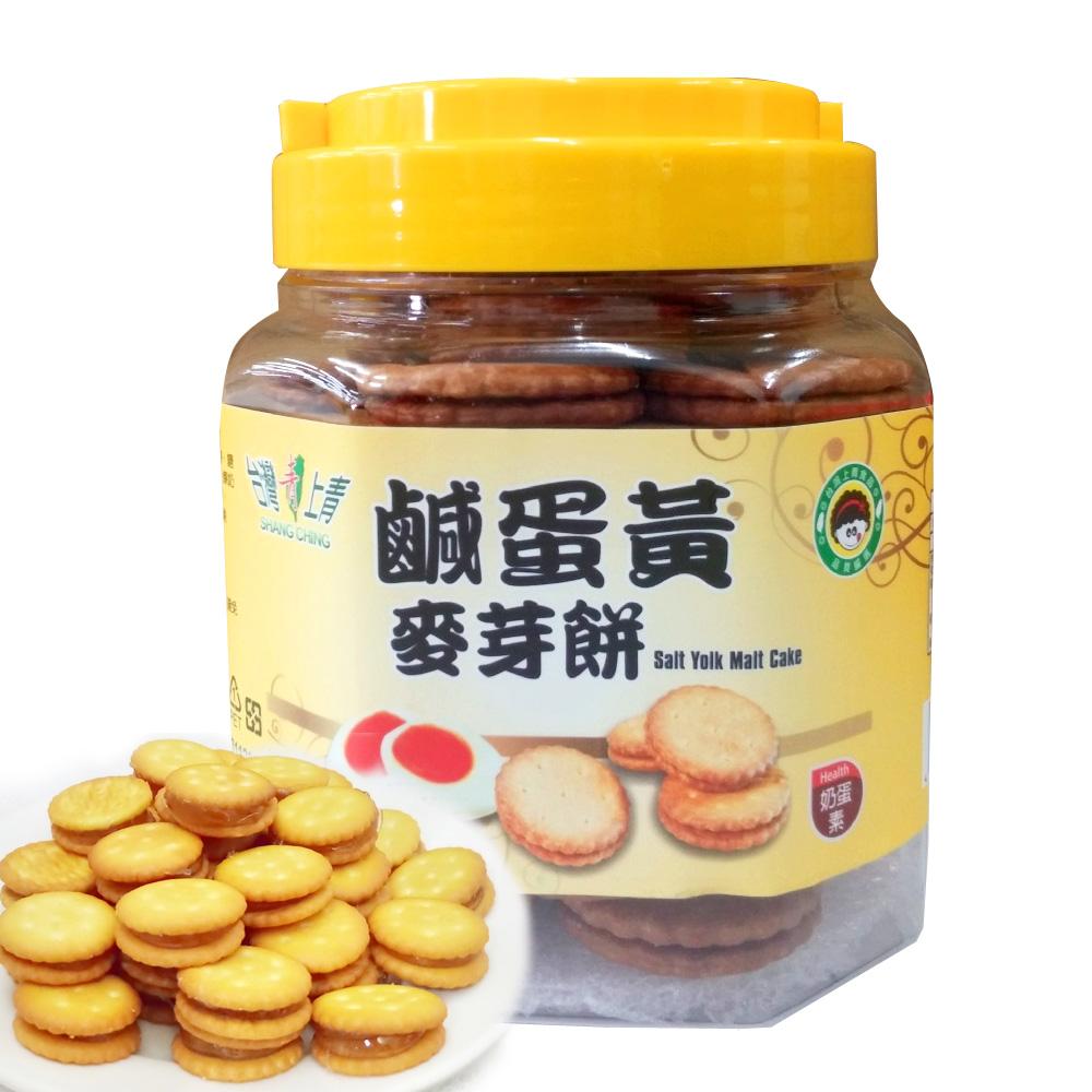 台灣上青 鹹蛋黃麥芽餅(300g)