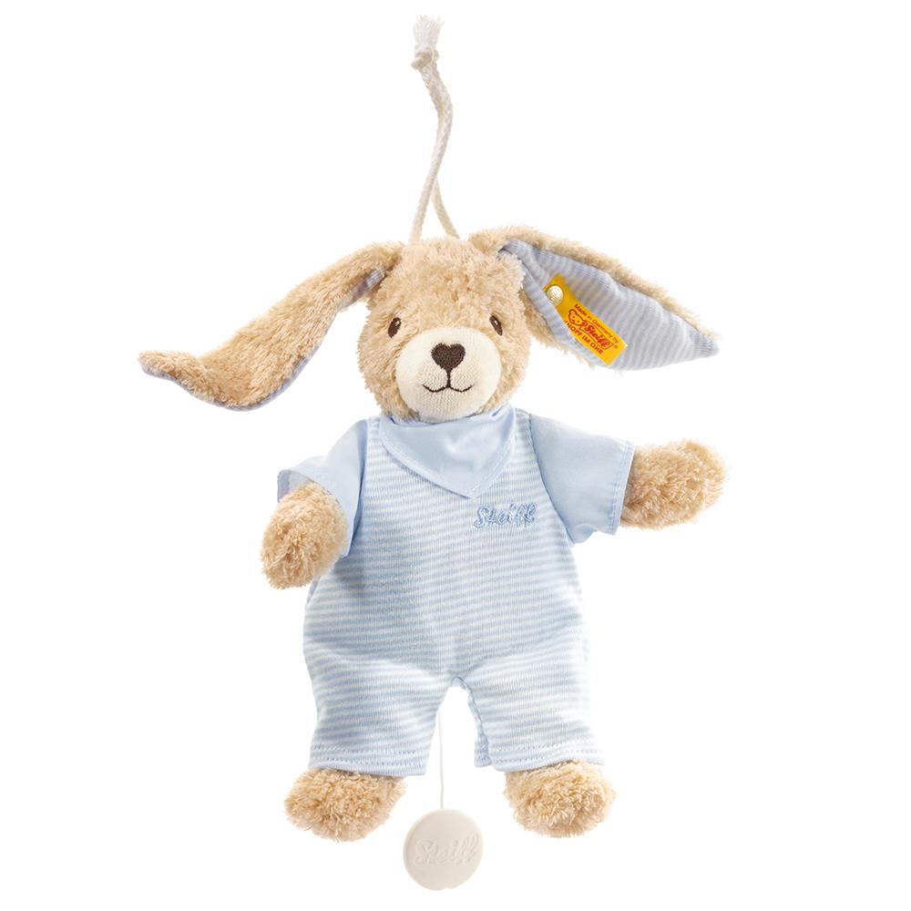 STEIFF泰迪熊 - 嬰幼兒玩偶Hoppel Rabbit Music Box