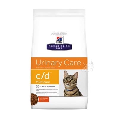 Hills 希爾思 泌尿道護理 c/d 貓用處方乾糧(8679)8.5磅 X 1包