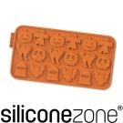 Siliconezone 施理康耐熱矽膠萬聖節巧克力模-橘色