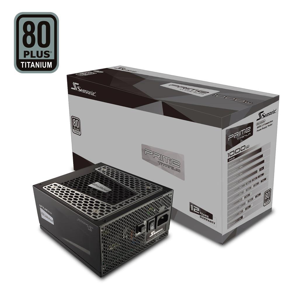 海韻  PRIME Titanium  1000w  電源供應器