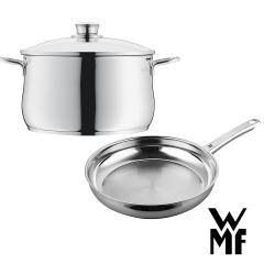 德國WMF DIADEM PLUS湯鍋24cm+平底煎鍋24cm