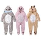 baby童衣 水晶絨動物造型連身服 64004