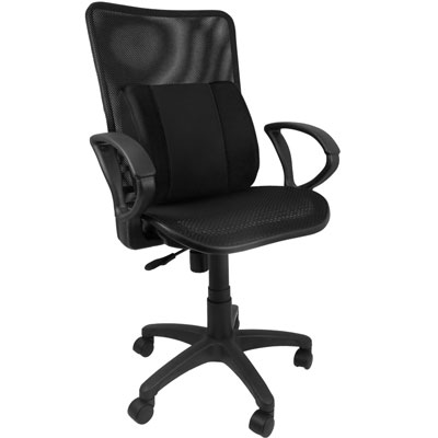 Design 3D護腰艷彩全網背透氣涼椅/辦公椅/涼椅