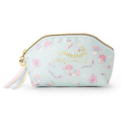 Sanrio 雙星仙子幸福女孩系列第二彈PU皮革筆袋/化妝包(晚安甜心)