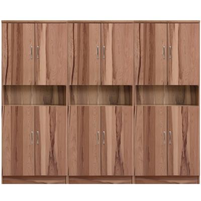 aaronation 雷思克設計師180~240cm上下中空木門鞋櫃-量身訂製系統家具