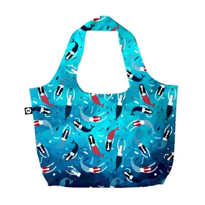 BG Berlin 摺疊環保袋-美人魚