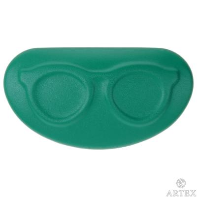 ARTEX life 皮革收納小盒 眼鏡造型 綠