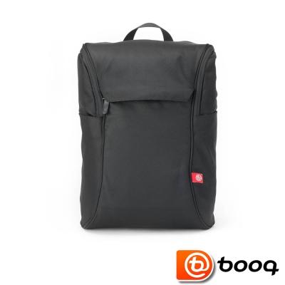 Booq Daypack 經典復古後背包 - 黑紅