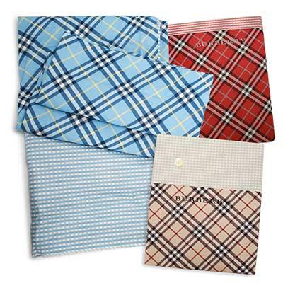 BURBERRY 品牌經典純棉被套/床包$3799起