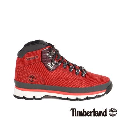 Timberland 男款緹花布面鞋