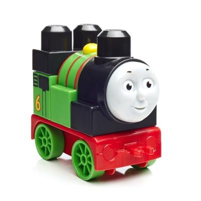 MEGA-BLOKS-費雪美高大積木湯瑪士小火車