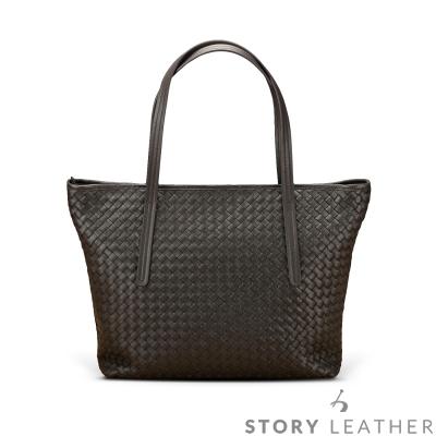 STORY 皮套王 - 羊皮編織側背包 Style 6684 訂做賣場