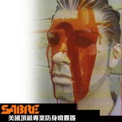 360°執法膠型-SABRE沙豹防身噴霧器(52CFT10-GEL)