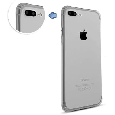 透明殼專家iPhone7 Plus鏡頭保護 防塵抗摔 全包覆軟殼