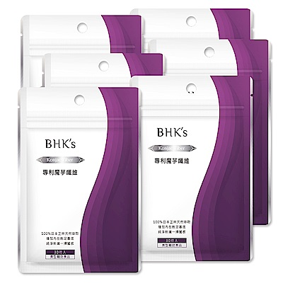 BHK's 專利魔芋纖維(30顆/包)6包組