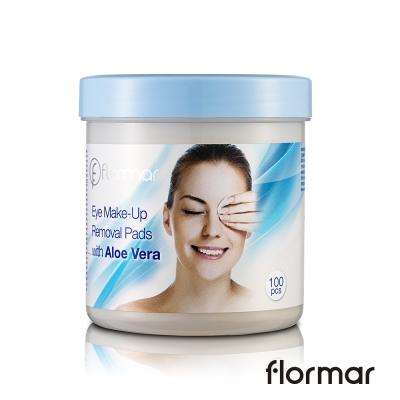 法國 Flormar - 無懈可擊蘆薈眼唇卸蛓(100片)