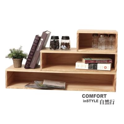 CiS自然行實木家具 鍵盤架-展示架-工業風-收納架M款-組合框