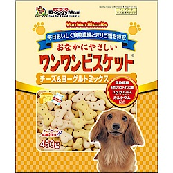 DoggyMan 犬用起司優格消臭餅乾 450g