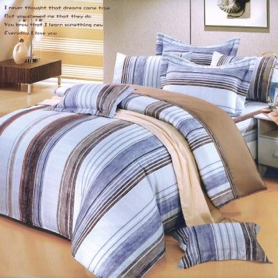 艾莉絲-貝倫 牧羊人 100%純棉 五件式單人鋪棉床罩組