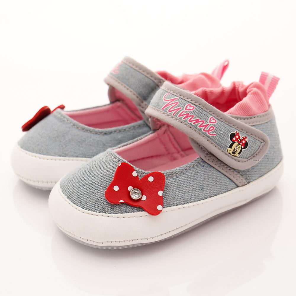 迪士尼童鞋米妮娃娃鞋款ON17210藍小童段HN