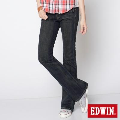EDWIN-MISS-503基本靴型牛仔褲-女-拔淺藍
