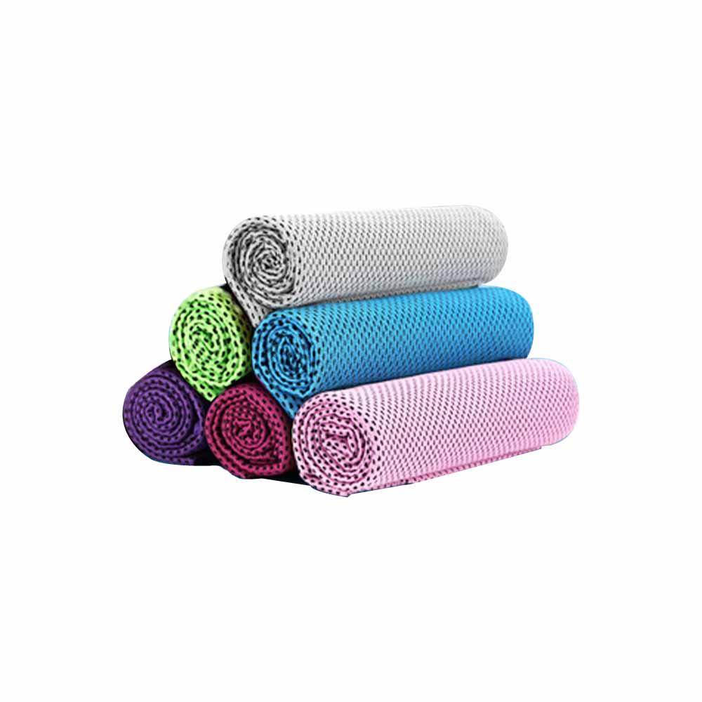 涼感冰涼紗巾 涼感巾 降溫運動擦汗巾-5入