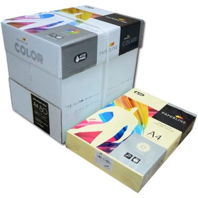 PAPERLINE 110 / 80P / A4 淺黃 彩色影印紙  (500張/包)