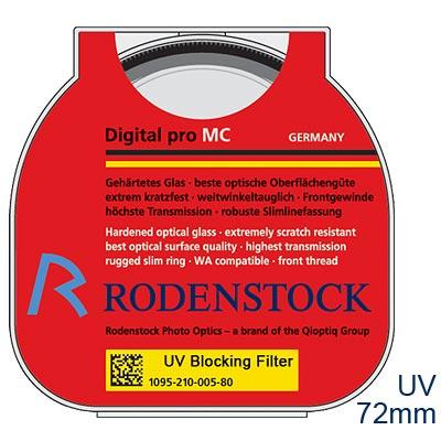RODENSTOCK PRO Digital UV M72濾鏡(公司貨)