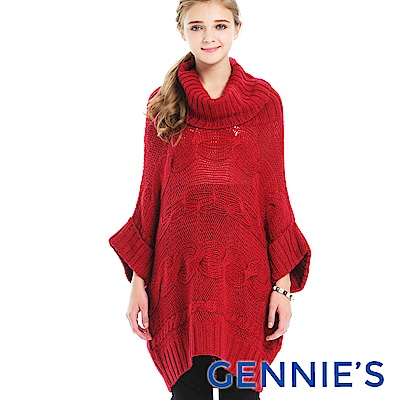 Gennies-Faravani系列-率性翻領針織孕婦上衣(CS601)二色可選