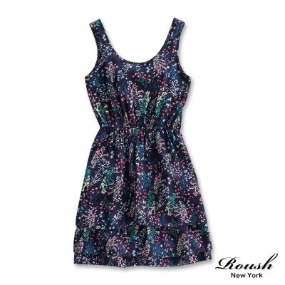 Roush 女生美式雪紡洋裝 (1色)