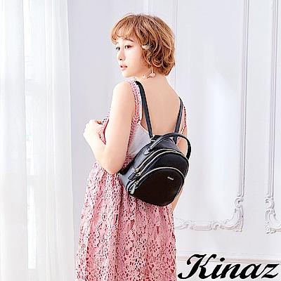 KINAZ 開啟幸福多用後背包-謎樣黑-鑰匙系列-快