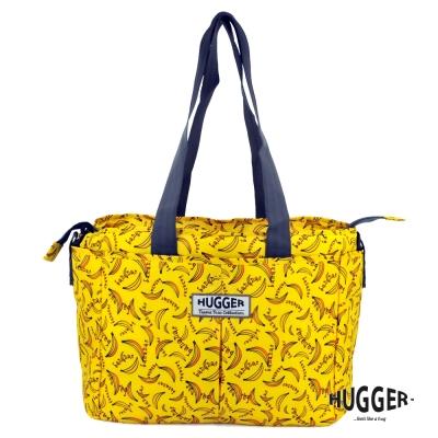 英國Hugger 超輕量時尚媽媽包-香蕉