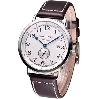 Hamilton Khaki Navy pioneer 復刻經典機械腕錶-白/40mm