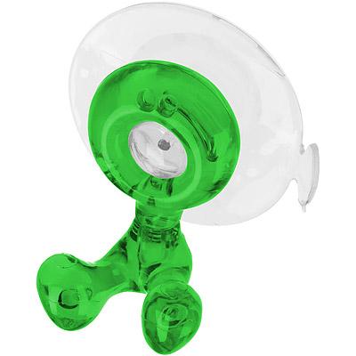 KOZIOL 小個兒吸盤牙刷架(透綠)