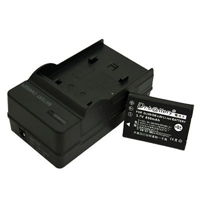 電池王 For Panasonic VW-VBX070 高容量鋰電池+充電器組