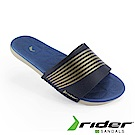 Rider 巴西-女 RESORT 一字拖鞋 (藍/米色)