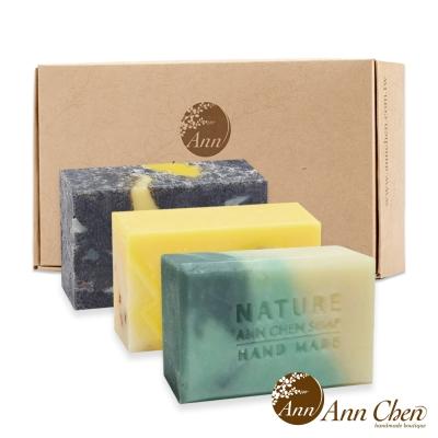 陳怡安手工皂-夏日薄荷清涼控油三入禮盒