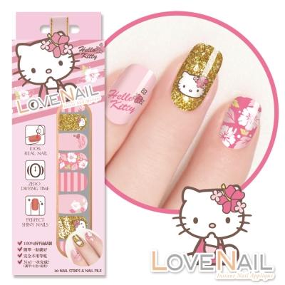 Hello Kitty x LOVE NAIL限定版指甲油貼-扶桑花戀語