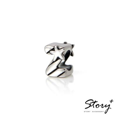 STORY故事銀飾-串珠墜飾-字母珠 Z
