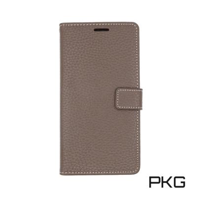 PKG 小米A1 側翻式皮套-精選系列-咖啡棕色